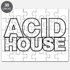 ACID HOUSE Black Line Puzzle
