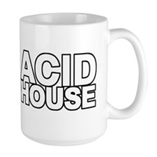 ACID HOUSE Black Line Mug