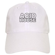 ACID HOUSE Black Line Baseball Cap