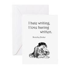 Love/Hate Writing Greeting Cards (Pk of 20)