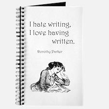 Love/Hate Writing Journal