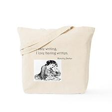Love/Hate Writing Tote Bag