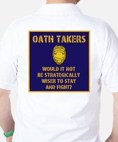 Oath Takers/stay and fight? T-Shirt
