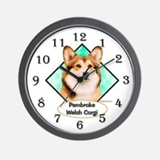 Corgi 6 Wall Clock