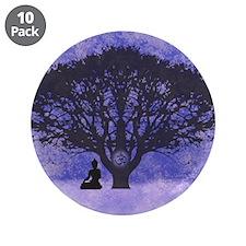 Buddha Beneath the Bodhi Tree-Light Background 3.5
