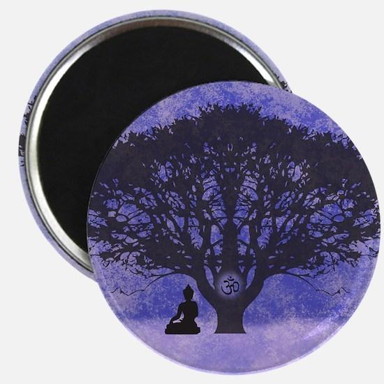 Buddha Beneath the Bodhi Tree-Light Background Mag