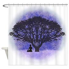 Buddha Beneath the Bodhi Tree-Light Background Sho
