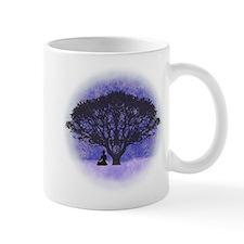 Buddha Beneath the Bodhi Tree-Light Background Small Mug