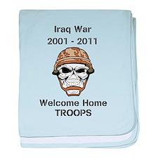 Iraq war Vet baby blanket