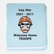 Iraq war Vet baby blanket