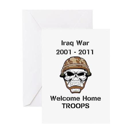 Iraq war Vet Greeting Card