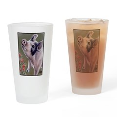 cafesingingpig.png Drinking Glass