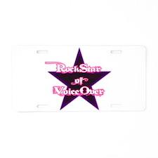 Cute Star Aluminum License Plate