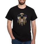 Native Crow Mandala Dark T-Shirt