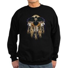 Native Crow Mandala Sweatshirt