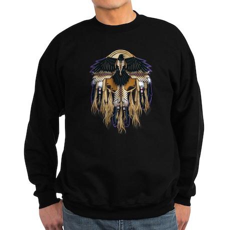 Native Crow Mandala Sweatshirt (dark)