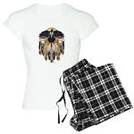 Native Crow Mandala Women's Light Pajamas