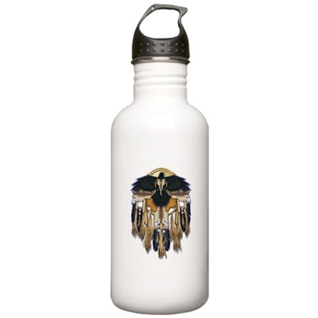 Native Crow Mandala Stainless Water Bottle 1.0L