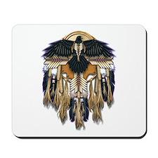 Native Crow Mandala Mousepad