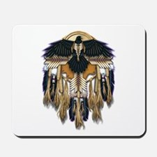 Native Crow Mandala Mousepad
