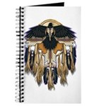 Native Crow Mandala Journal