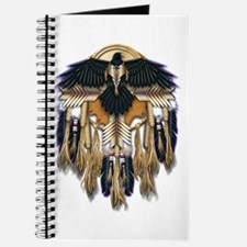Native Crow Mandala Journal
