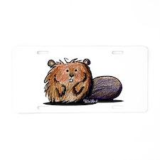 Beaver Aluminum License Plate