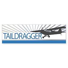 Aircraft Taildragger Bumper Sticker