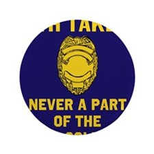 """Oath Takers/Not 5th Column 3.5"""" Button"""