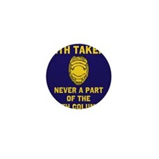 Oath Takers/Not 5th Column Mini Button