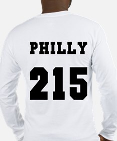 """""""PHILLY 215"""" Long Sleeve T-Shirt"""