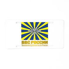 Russian Air Force Flag Aluminum License Plate