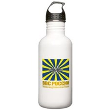Russian Air Force Flag Sports Water Bottle