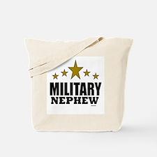 Military Nephew Tote Bag