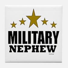 Military Nephew Tile Coaster