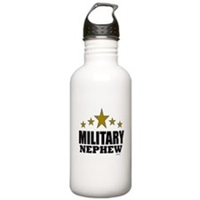 Military Nephew Water Bottle