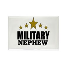 Military Nephew Rectangle Magnet