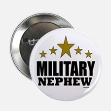 """Military Nephew 2.25"""" Button"""