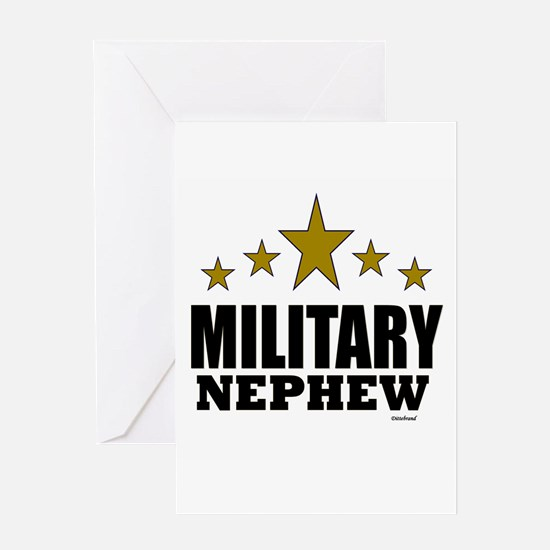 Military Nephew Greeting Card