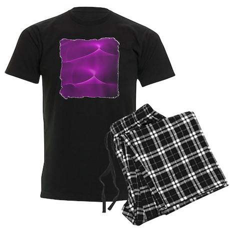 Electric Purple Men's Dark Pajamas