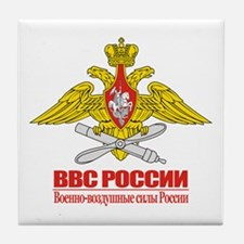 Russian Air Force Emblem Tile Coaster