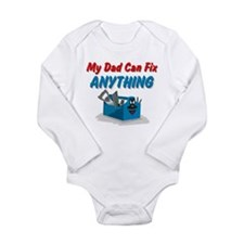 Fix Anything Dad Long Sleeve Infant Bodysuit