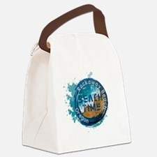 Cool Vacation Canvas Lunch Bag