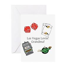 Las Vegas Lovin Grandma Greeting Card