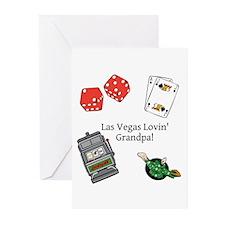 Las Vegas Lovin Grandpa Greeting Cards (Pk of 20)