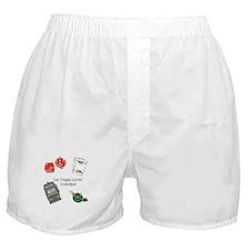 Las Vegas Lovin Grandpa Boxer Shorts