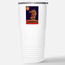Tiger Knight Stainless Steel Travel Mug