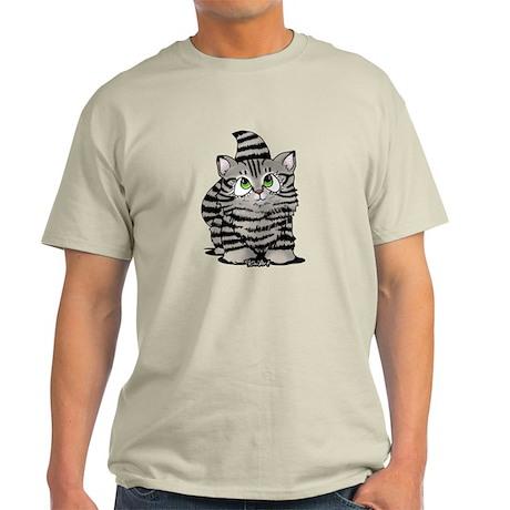 Tabby Cutie Face Kitten Light T-Shirt