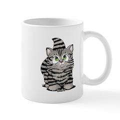 Tabby Cutie Face Kitten Mug