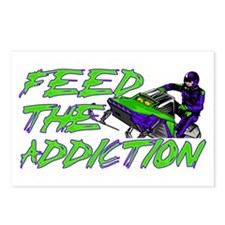 Feed The Addiction Postcards (Package of 8)